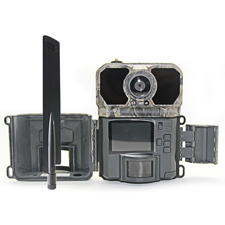 SD Card 4g Hunting Camera , 4g Wildlife Camera Day / Night Operation