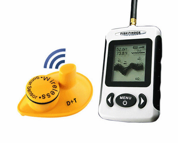 2.4GHz Wireless LCD Screen Bait Boat Fish Finder GPS HYZ-842G 300-500M