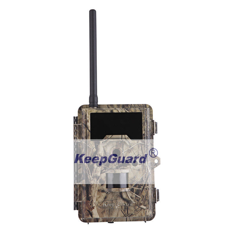 PIR FOV55° 12MP IR HD Hunting Cameras , Motion Detection Wildlife Camera